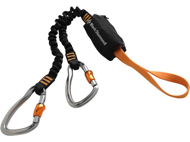 Black Diamond Iron Cruiser Set Via Ferrata, grigio/arancione